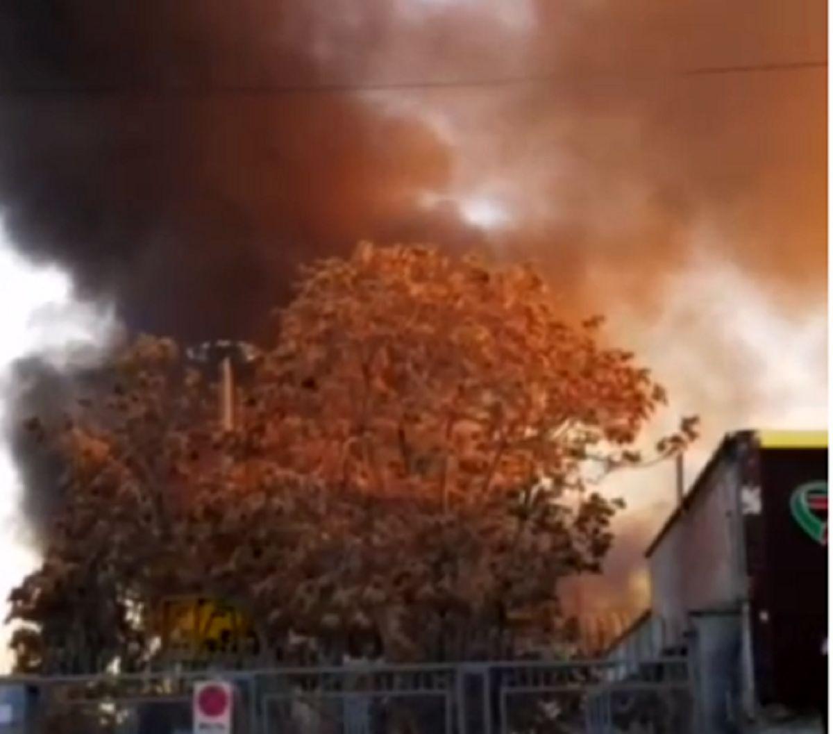 جزییات آتشسوزی گسترده در خیابان شوش