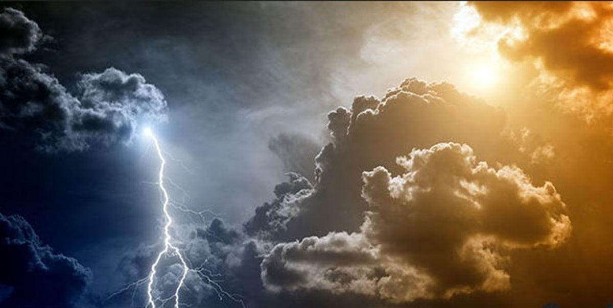 بارش پراکنده باران در استانهای شمالی کشور و ارتفاعات البرز