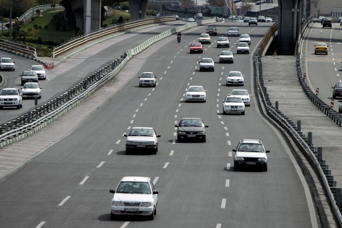 پایان مهلت خروج خودروهای غیربومی از شهرهای قرمز و نارنجی