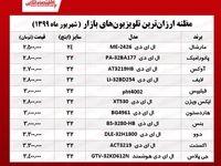 ۱۰ تلویزیون ارزان بازار تهران (۱۳۹۹/۶/۲۲)