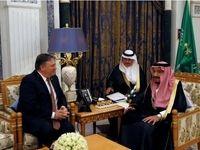 دیدار وزیر مورد علاقه ترامپ با ملک سلمان +تصاویر