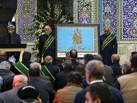 مراسم سومین روز تدفین سپهبد شهید حاج قاسم سلیمانی +تصاویر