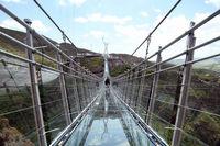 افتتاح ترسناکترین پل ایران +عکس