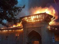 دادستان مازندران: آتشسوزی مسجد جامع ساری امنیتی نبوده