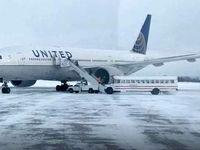 مسافران یک پرواز ۱۴ساعت در دمای زیر صفر گرفتار شدند