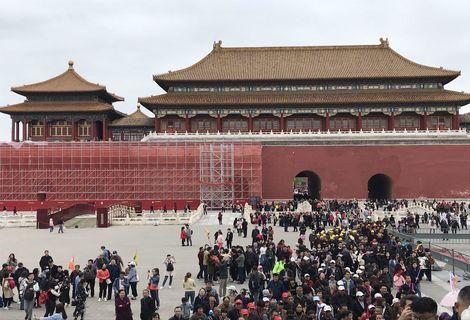 گردش یک روزه در شهر ممنوعه چین! +تصاویر
