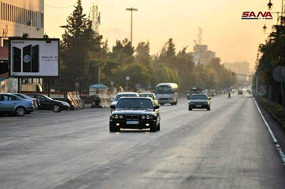 خیابانهای دمشق بعد از حمله موشکی +عکس