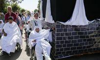 مراسم نمادین حج سالمندان آسایشگاه کهریزک +تصاویر