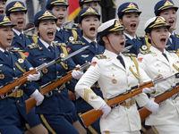 زیباترین سرباز چین +عکس