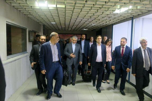 یک هیات اقتصادی ایران وارد دمشق شد