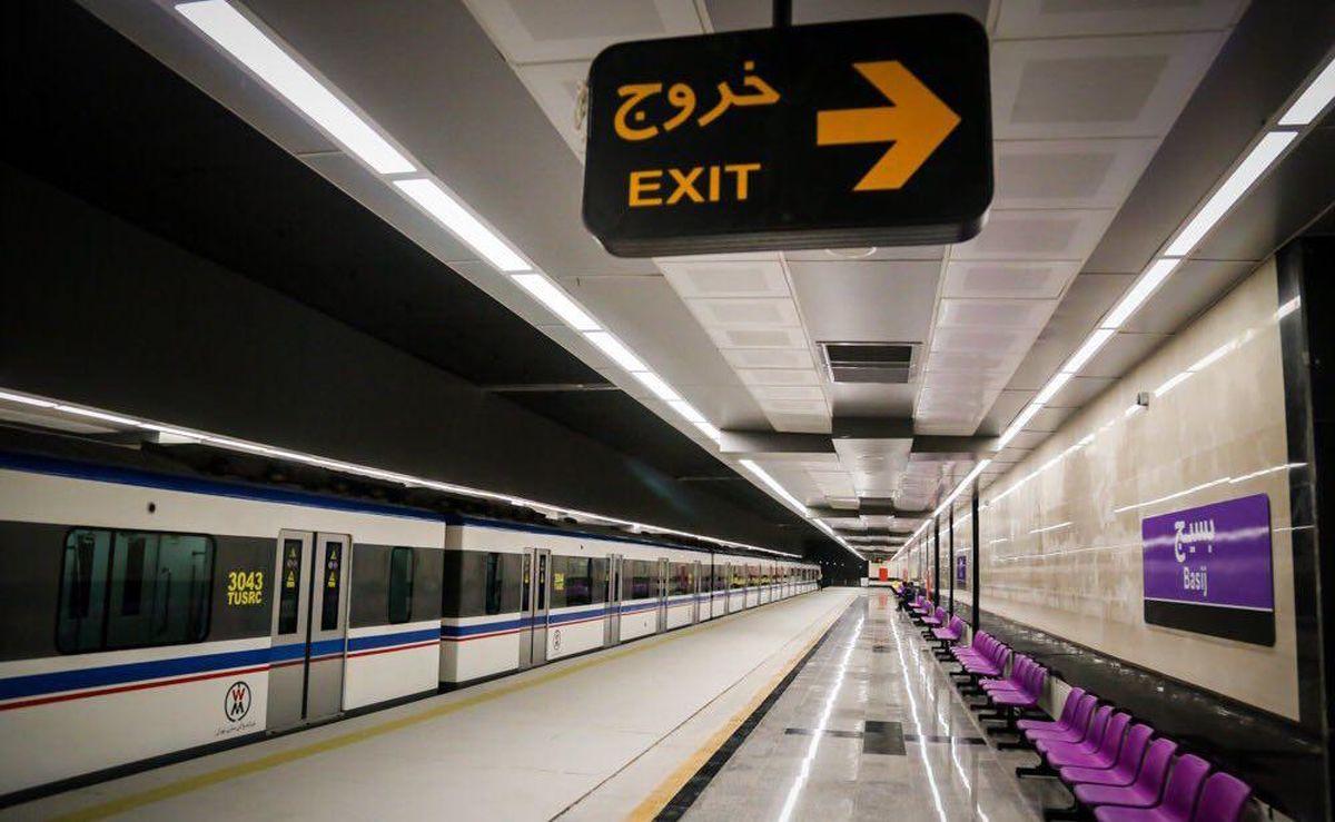 بررسی ایستگاههای مترو برای نصب پلهبرقی و آسانسور