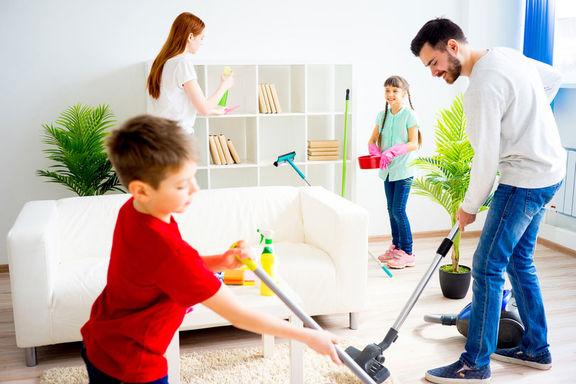 چگونه وظایف خانه را تقسیم کنیم؟