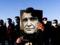 مراسم خاکسپاری پیکر محمدرضا شجریان +عکس