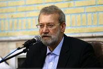 لاریجانی بر گسترش همکاریهای ایران و قطر تاکید کرد