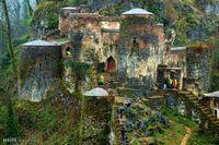 بزرگ ترین قلعه آجری ایران + عکس