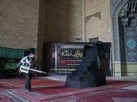 ضدعفونی هیئتها و مساجد +عکس