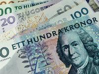 سقوط آزاد پول سوئد در مقابل دلار