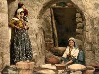 اولین عکسهای رنگی از زندگی مردم خاورمیانه +تصاویر