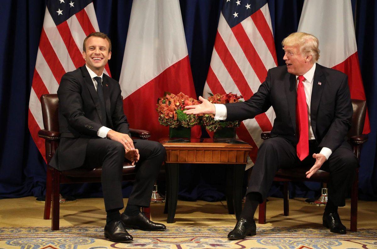 """دوستی """"ترامپ-مکرون"""" ضامن حفظ برجام"""