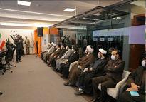 بازدید روسای نهاد نمایندگی مقام معظم رهبری در دانشگاه های تهران از مرکز مانیتورینگ همراه اول