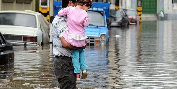 آخرین وضعیت سیلاب استانهای هرمزگان و خوزستان