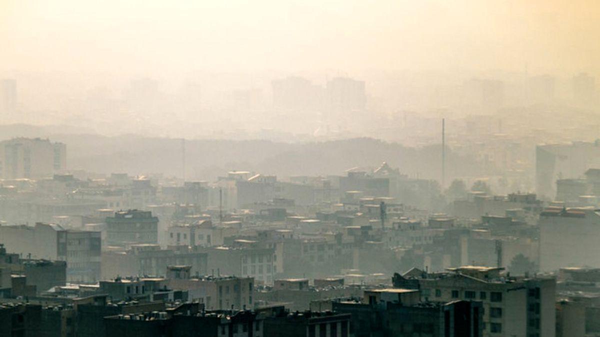 آلودگی هوا در تهران و البرز تشدید میشود