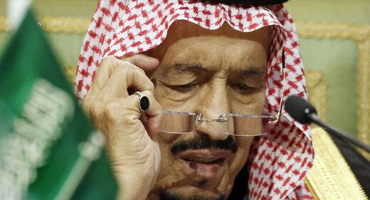 شاه عربستان ممنوعیت آمد و شد اعمال کرد