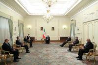 ایران با هرگونه مداخله خارجی در امور داخلی عراق مخالف است/ تاکید بر افزایش حجم مبادلات تجاری به ۲۰میلیارد دلار