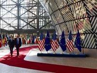 امضای توافقنامه کاهش تعرفهها میان آمریکا و اروپا