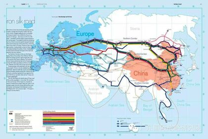 مسیر پیشنهادی چینیها برای جاده ابریشم +اینفوگرافیک
