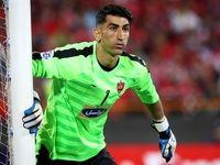 پخش زنده فوتبال ایران و چین در لندن به خاطر بیرانوند