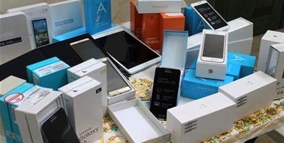 توقیف ۶هزار گوشی تلفن همراه یک گرانفروش به نفع دولت