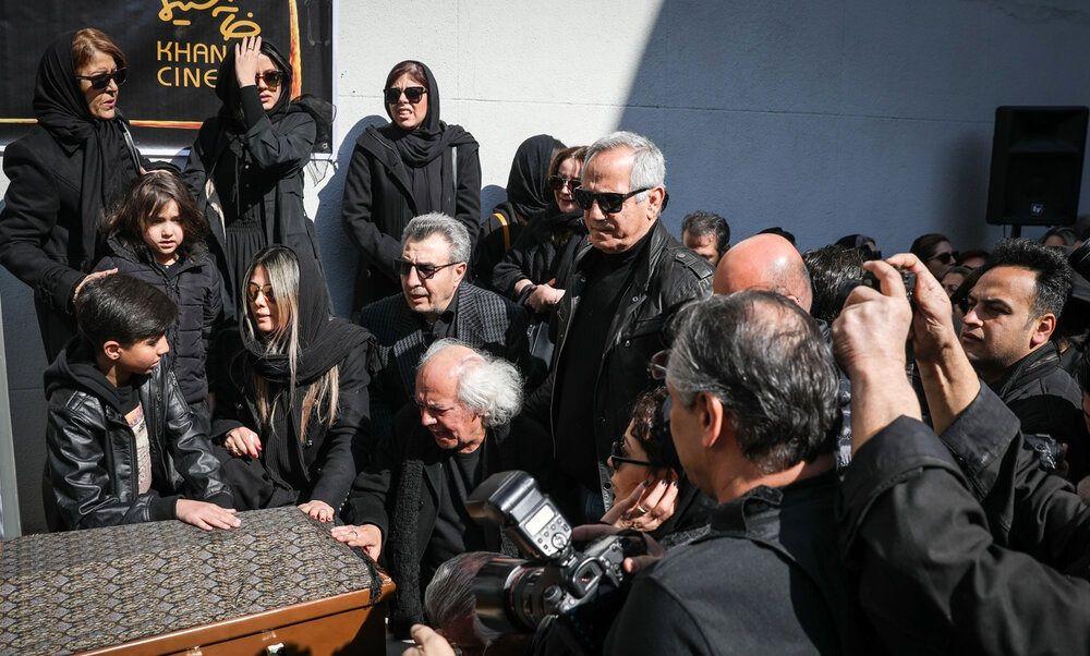 مراسم تشییع پیکر خشایار الوند