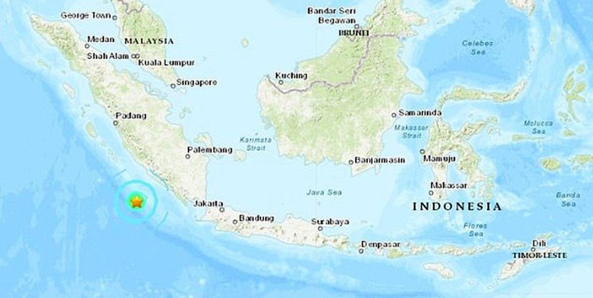 وقوع زلزله پرقدرت ۶,۲ریشتری در اندونزی