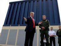 ترامپ در مرز آمریکا با مکزیک از ارتش استفاده میکند