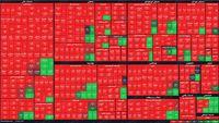 نمای پایانی امروز بازار سرمایه/ افت شاخص کل و هموزن