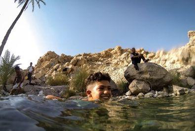 چشمه ای زلال و عجیب در استان هرمزگان