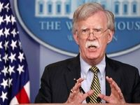بولتون ایران را با ناو هواپیمابر و بمبافکن تهدید کرد