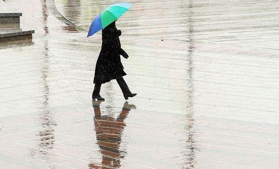 شدت بارندگی در کشور کم شد