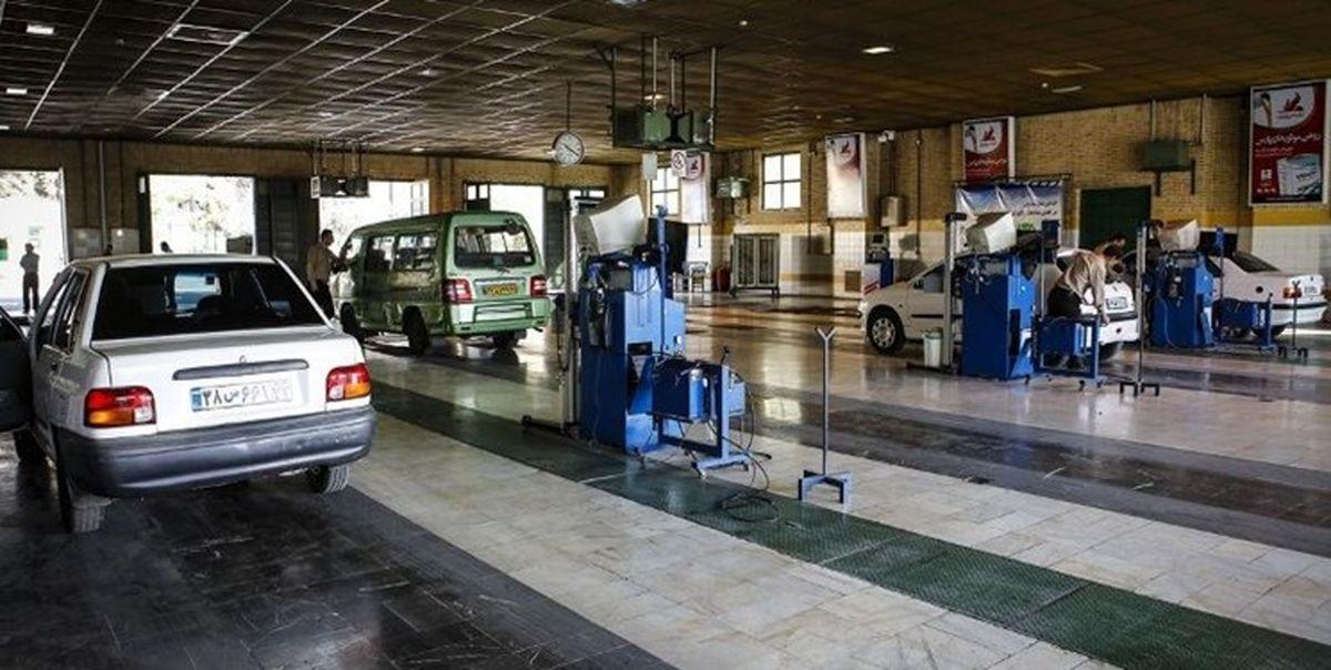 گرانی ۴۰درصدی نرخ معاینه فنی خودروها
