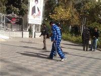همسر بازیگر معروف در دادسرای تهران+ عکس