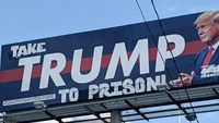 ترامپ را به زندان ببرید +عکس