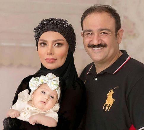 عکس دیده نشده از مهران غفوریان و همسرش