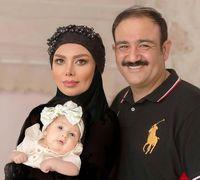 تبریک روز دختر مهران غفوریان + عکس