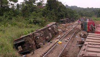 خروج قطار از ریل در کنگو، ۵۰کشته بر جا گذاشت