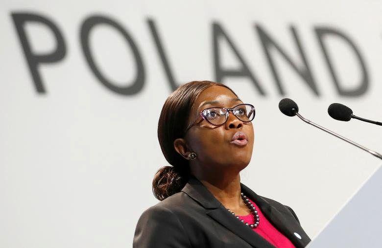 Namibia's Prime Minister Saara Kuugongelwa Amadhila, in office since March 21, 2015. REUTERS/Kacper Pempel