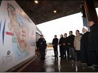 روحانی در بهره برداری رسمی از منطقه یک آزادراه تهران-شمال +عکس