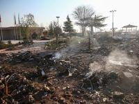 ادعای جدید نیویورک تایمز درباره سقوط هواپیمای اوکراینی +فیلم