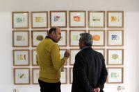 کرنش هنرمند آلمانی به حافظ +تصاویر