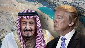 وبگاه عربی: ترامپ با کابوس ایران در حال باجگیری از سعودیهاست